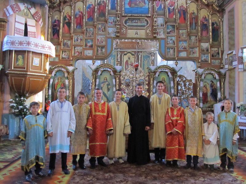 Вівтарна Дружина храму св. Миколая
